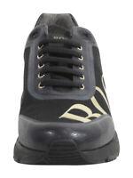 Hugo Boss Men's Velocity Black Memory Foam Sneakers Shoes