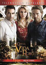 LO QUE LA VIDA ME ROBO - TELENOVELA - 4 DVDS - BRAND NEW - LATIN