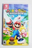 Mario + Rabbids Kingdom Battle Nintendo Switch Video Game New Factory Sealed