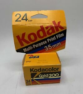 1 Roll Kodacolor Gold 200 24 Exp 35mm Color Print Film Expired 01/1992 GB135-24