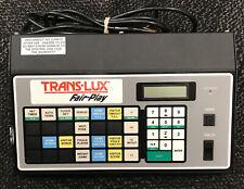 Trans-Lux Fair-Play MP-70 Scoreboard Controller MP-70-0111
