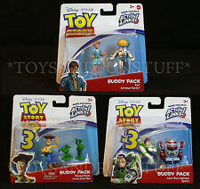 ASTRONAUT BARBIE & KEN Toy Story BUDDY PACK 6 Figures SPARKS Buzz CAKE TOPPERS