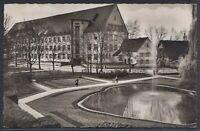 45100) AK Forchheim Oberfranken Stadtpark mit Zentralschule ca. 1960