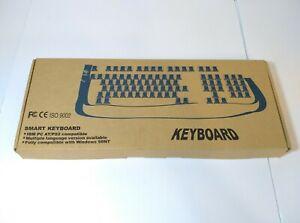 VTG Smart Keyboard IBM PC AT PS/2 Compatible Model KB-101 Windows 98 Compatible
