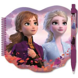 Disney Frozen - Die Eiskönigin Mädchen Notizbuch Tagebuch  Kugelschreiber