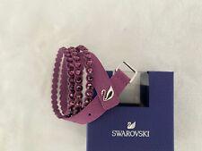 Swarovski Power Collection Slake Crystal Bracelet Purple