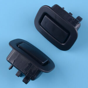 Pair Rear Seat Backrest Holder Recliner Button Fit For 2009-13 Subaru Forester