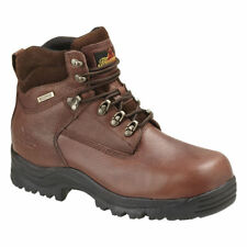 """Thorogood 804-4900 Safety Toe 6"""" WP Oblique Composite Safety Toe Work Boot-4M"""
