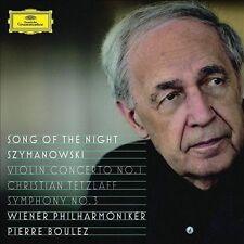 Song of the Night; Szymanowski: Violin Concerto No. 1 / Symphony No.3, New Music