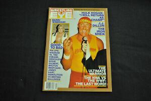 WRESTLING EYE MAGAZINE SEPTEMBER 1988 - HULK HOGAN COVER! (F-VF)