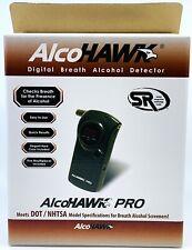 NEW AlcoHAWK Pro Digital Breath Alcohol Tester Quick Screen Breathalyzer