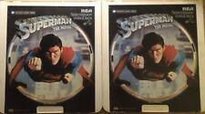 Superman CED Videodisc NTSC 1978