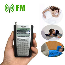 Mini indin Radio portátil AM/FM Antena telescópica BOLSILLO MUNDIAL Receptor