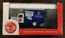 Lledo Days Gone 1956 Melbourne Coca Cola Olympics Delivery Truck 1996 Atlanta