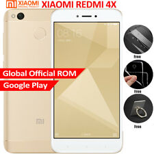 Original Xiaomi Redmi 4x 16GB 2GB RAM Snapdragon 435 4100mAh Oro MIUI8 Touch ID