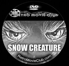 New listing The Snow Creature (1954) Horror, Sci-Fi Movie Dvd