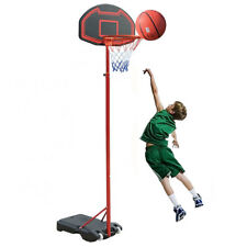 Kingdom GB Portable Basketball Stand Net Hoop Backboard Adjustable On Wheels ✅
