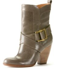 Frye Andrea Mid Boots, Gray Brown, 7.5
