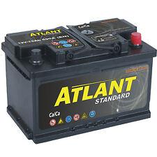 Autobatterie 75Ah 12V 690A/EN ATLANT TOP ANGEBOT SOFORT & NEU 75 Ah