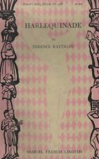 "TERENCE RATTIGAN - ""HARLEQUINADE"" - 1st ACTING Edn - SAMUEL FRENCH PB (1949)"