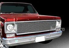 73-80 Chevy Suburban/Blazer/C/K Pickup Replacement Upper 1PC Billet Grille Grill