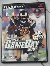 NFL Game Day 2001 Video Game PS2 - G116