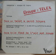 TELEX/MARTIAL SOLAL/GUY LAFITTE TWIST A SAINT TROPEZ FRENCH SP VOGUE 1978