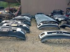2011 2016 FORD F250 F350 Super Duty POWERSTROKE CHROME Front Bumper OEM COMPLETE