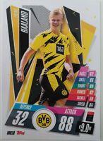 2020/21 Match Attax UEFA Champions League - Erling Haaland DOR18 Dortmund