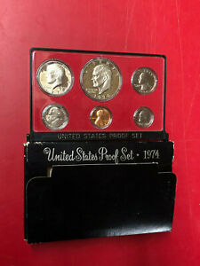 1974 US MINT PROOF SET WITH BOX