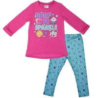 Girls Shirt & Legging Set Shopkins Tunic Top Outfit Long Sleeve Size 4 - 6X New