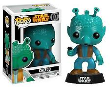 Funko Pop Vinyl #07 - Greedo (Vaulted) Star Wars Figure