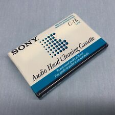 New listing Sony C-1K Audio Head Cleaning Cassette
