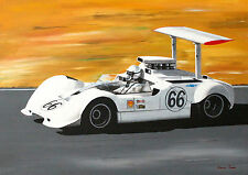 Chaparral 2G, A2 POSTER