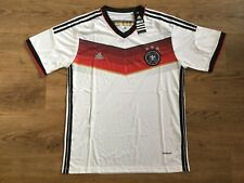 Adidas Climacool Germany, Deutschland White Football T-Shirt 2014 Size:L New