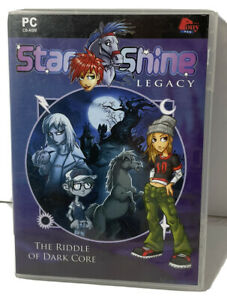 Star Shine Legacy The Riddle of Dark Core PC CD-ROM Game With Box