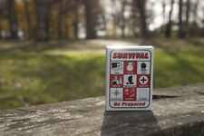 Survival Playing Cards Shtf Gear Prepper Supplies Bug Out Bag 72 Hour Kit IFAK