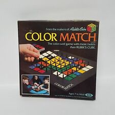 Ideal Color Match Game From The Makers of Rubiks Cube Complete 1982 New Open Box