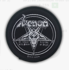 VENOM - WELCOME TO HELL - WOVEN PATCH - BRAND NEW - MUSIC BAND 2503