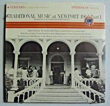 TRADITIONAL MUSIC at NEWPORT 1964 Pt. 1 v/a LP SEALED VANGUARD Stereolab