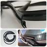 1.7M Rubber Seal Strip for Car Front Windscreen Wiper windshield Anti-Dust Black