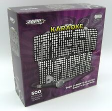 Zoom KARAOKE Mega Pack BOX SET - 500 KARAOKE HITS - 26 CD + G SET-I danni minori!