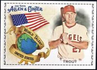 2018 Topps Allen and Ginter Baseball Insert Singles (Pick Your Cards)