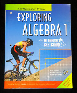 Exploring Algebra 1 with The Geometer's Sketchpad Version 4 Edition (PB; 2006)
