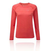 RonHill Womens Everyday Long Sleeve T Shirt Tee Top - Pink Sports Running