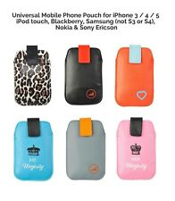 UPP Universal Mobile Phone Pouch for iPhone iPod touch Blackberry Samsung & More