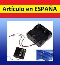 CAJA para 8 PILAS AA 2A box 12V pack funda unir juntar soporte electronica motor