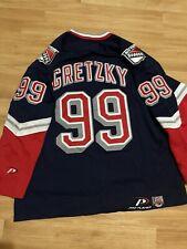 New listing New York Rangers Lady Liberty Pro Player Wayne Gretzky NHL Hockey Jersey Vintage