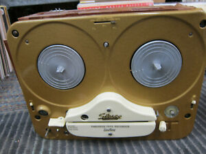 Vintage Tandberg Model 5 Stereo Tube Reel To Reel, Parts, Cosmetic Damage, 1950s