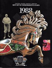 1988 Commemorative Year Softcover Book (no stamps) - Excellent Condition